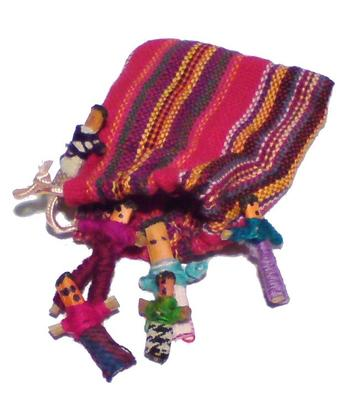Maya | Worry Dolls in Bag