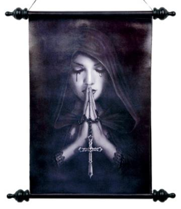 Anne Stokes | Art Scroll - Gothic Prayer