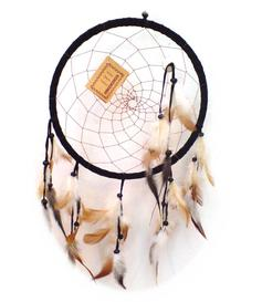 Dreamcatcher Shell - Black 22cm
