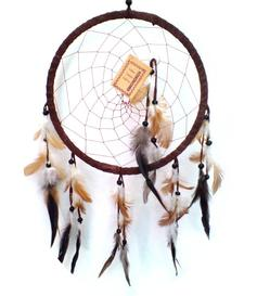 Dreamcatcher Shell - Brown 22cm