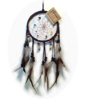 Dreamcatcher Crystals - Brown 12cm