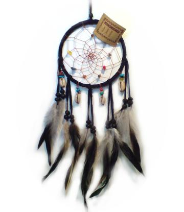 Dreamcatcher | Crystals - Black 12cm