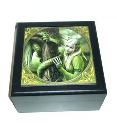 Anne Stokes | Art Tile Box - Kindred Spirits