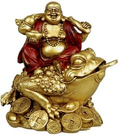 Happy Buddha | Golden - Toad, 15