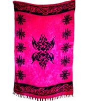 Sarong Celtic Force - Cerise Red