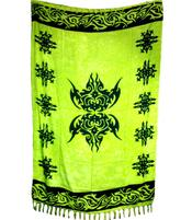 Sarong Celtic Force - Green