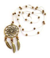 Dreamcatcher Necklace - Golden