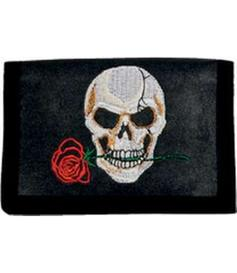 Wallet | Skull with rose