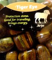Zodiac Stone | Aries - Tiger Eye