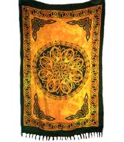 Sarong Celtic Mandala - Orange