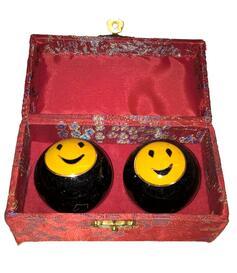 Baoding Balls - Happy 45mm