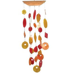 Sea Shell Wind Chime - Colored