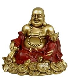 Happy Buddha | Golden - Money, 10