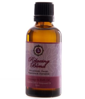 Relaxing Blend | Grapeseed with Lavender, Fennel, Peppermint & Chamomile - 50ml