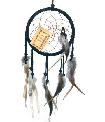 Dreamcatcher | Shell | Black 12cm