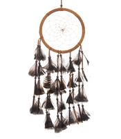 Dreamcatcher Feathers - Brown 17cm