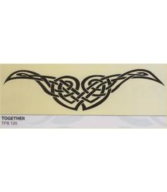 Tribal tattoo | temporary | Together