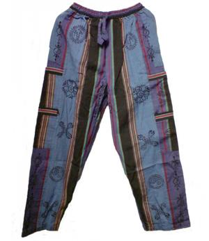 Pants | purple/blue