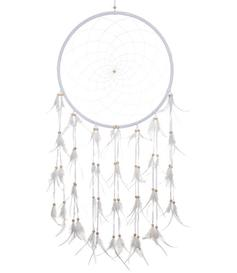 Dreamcatcher Feathers - Pure White 42cm