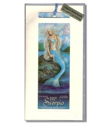Card | Zodiac Bookmark - Scorpio