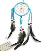 Navajo Dreamcatcher - turquoise, 8cm
