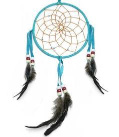 Navajo Dreamcatcher - turquoise, 15cm