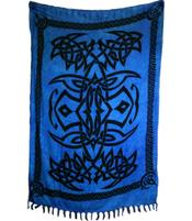 Sarong Celtic Tribal - Blue