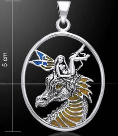 Silver Pendant | Dragon Feary