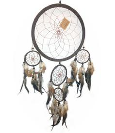 Dreamcatcher Multi 5 - Brown 25cm