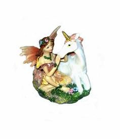 Fairy with Unicorn - Pink
