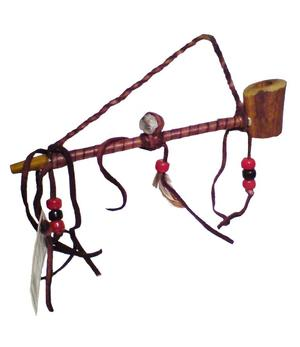 Peace pipe | navajo | antler - 1