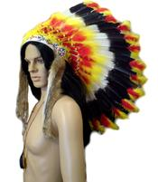 Native American Headdress War Bonnet - Fireball Eagle