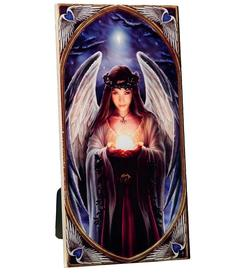 Anne Stokes | Art Tile - Yule Angel, medium